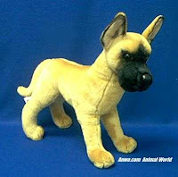 Great Dane Plush Stuffed Animal
