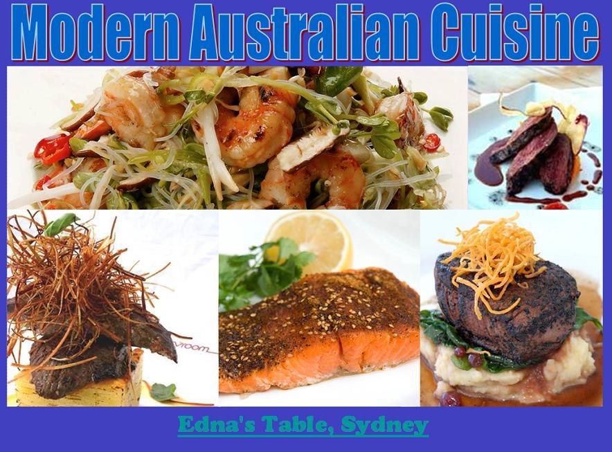 Aidan brooks trainee chef topics australian gastronomy for Australian modern cuisine
