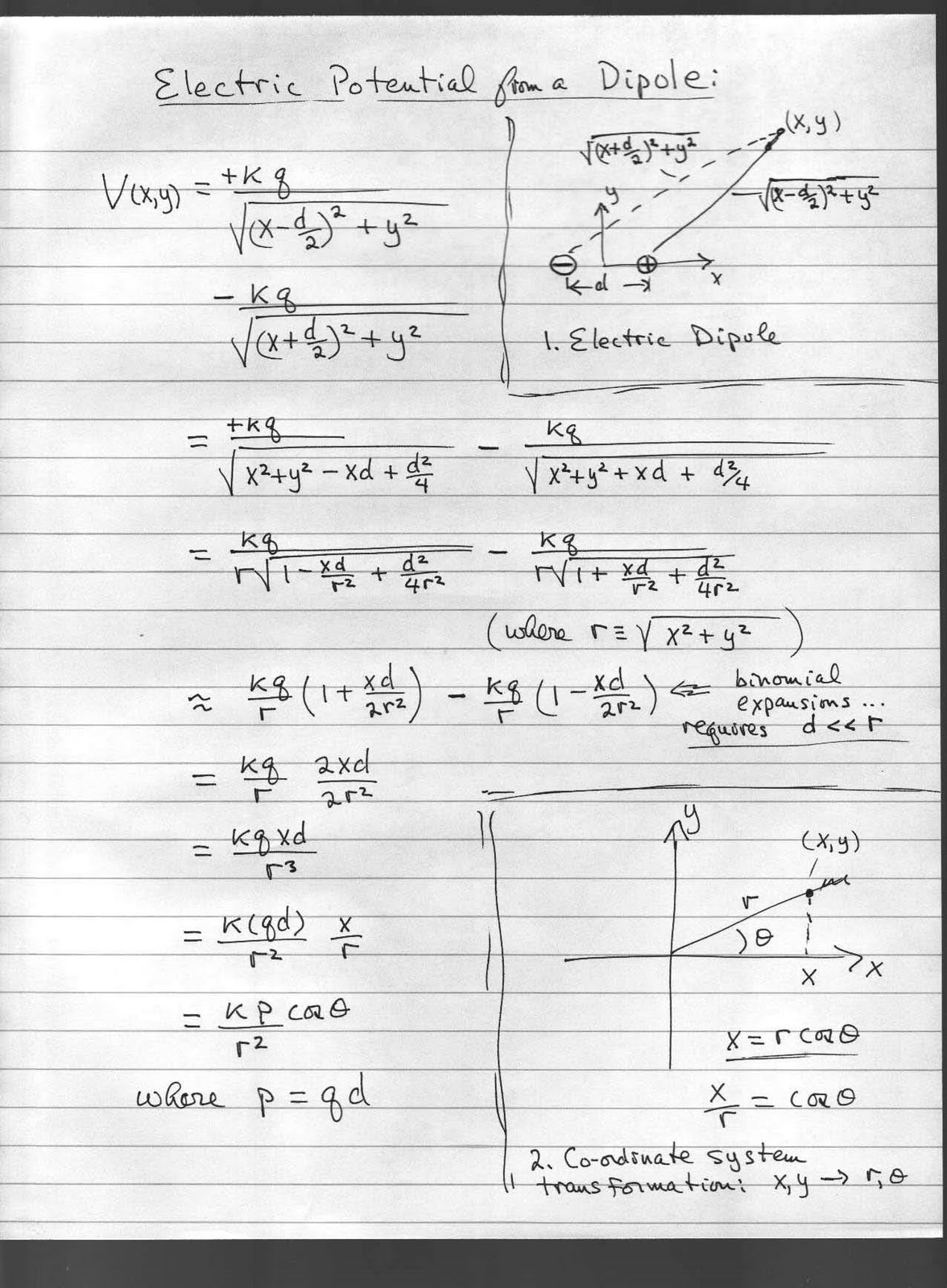 Physics 6c Fall Derivation Of The Formula For The