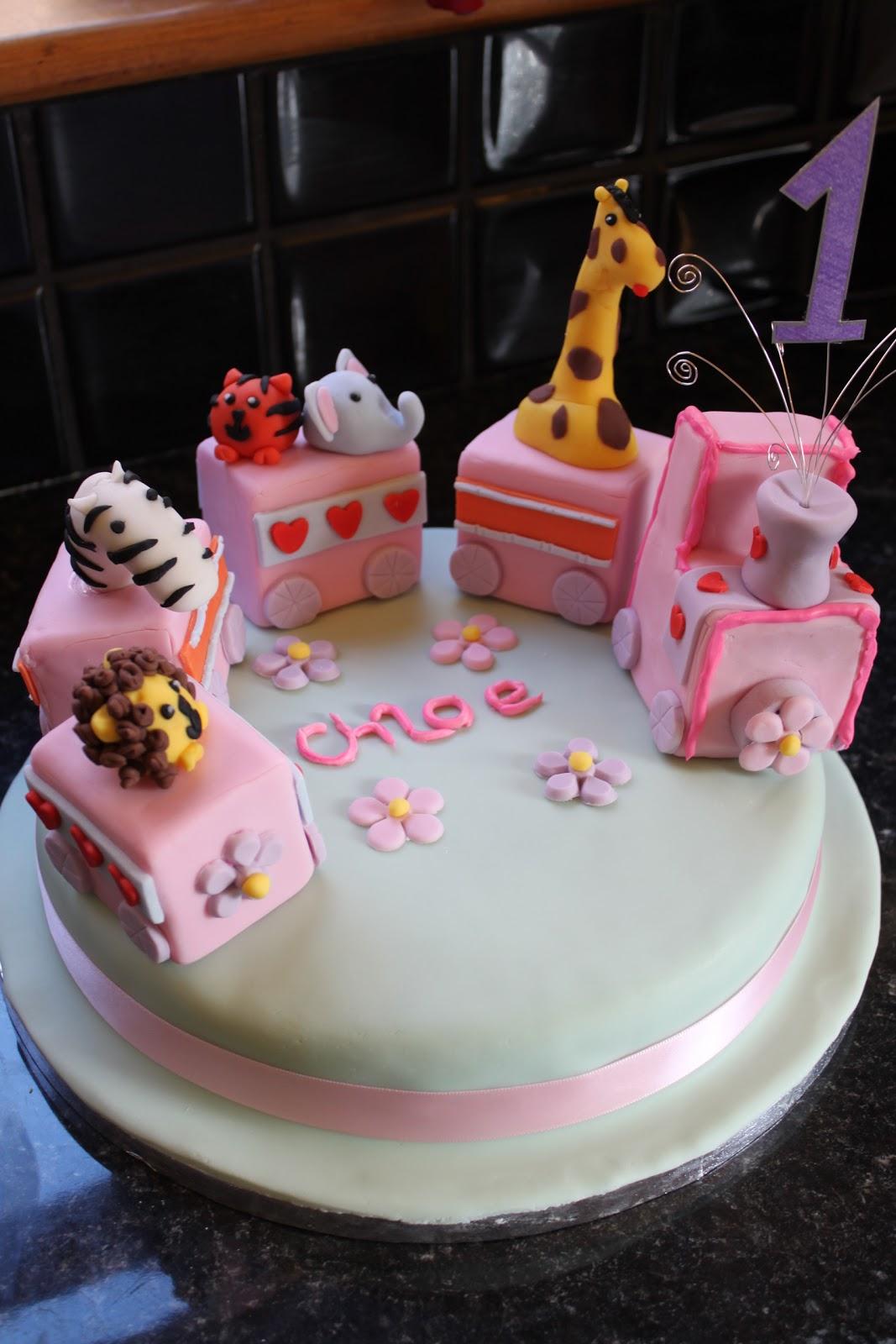 Love Cake Hate Diets 1st Birthday Zoo Train
