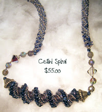 Celini Spirl Blue and Gray
