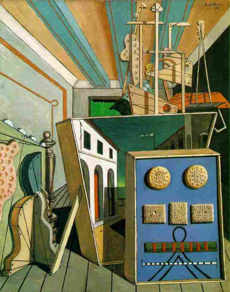 Melancholy Street Chirico De And Mystery