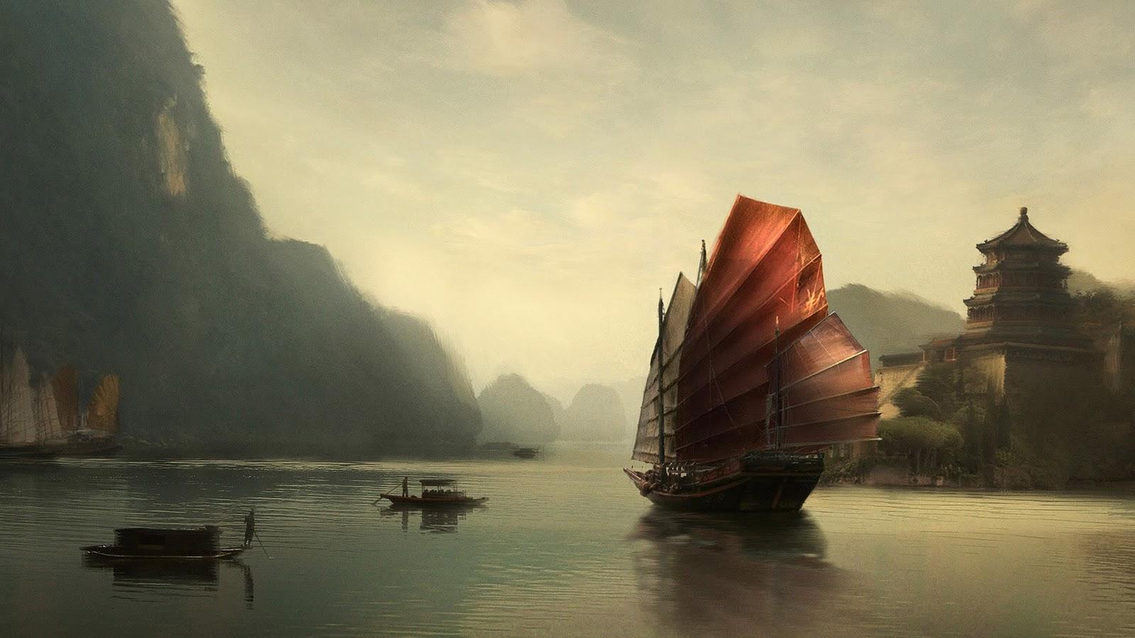 wallpaper: Asian Wallpaper Design