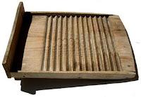 Lavadero de madera