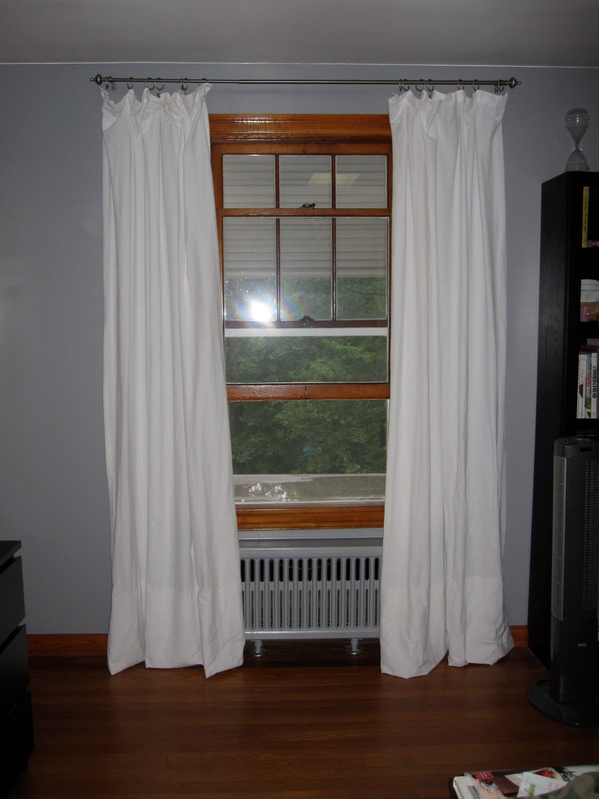 The Good Days and The Bad: DIY:More Curtains for Super Cheap