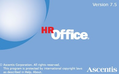 Ascentis HROffice 7.5.430