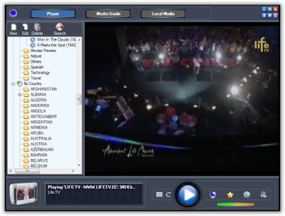 onlineTV 5.0.1.2 التليفزيون الكمبيوتر