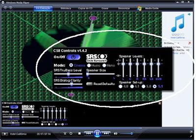 برنامج Surround WMP لتضخيم الكمبيوتر تنقيته