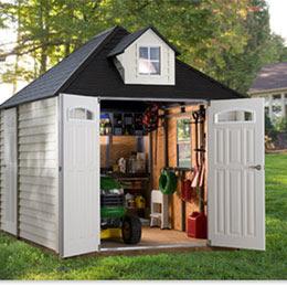 frameworks storage shed