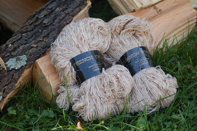 French Tweed by Unger, two skeins