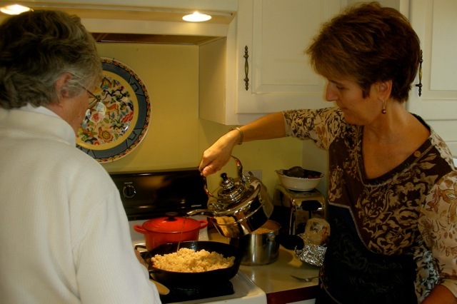 Meg's Macrobiotic cooking demo! December 12
