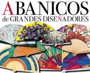 Colección de abanicos de grandes diseñadores en cuadros y lienzos