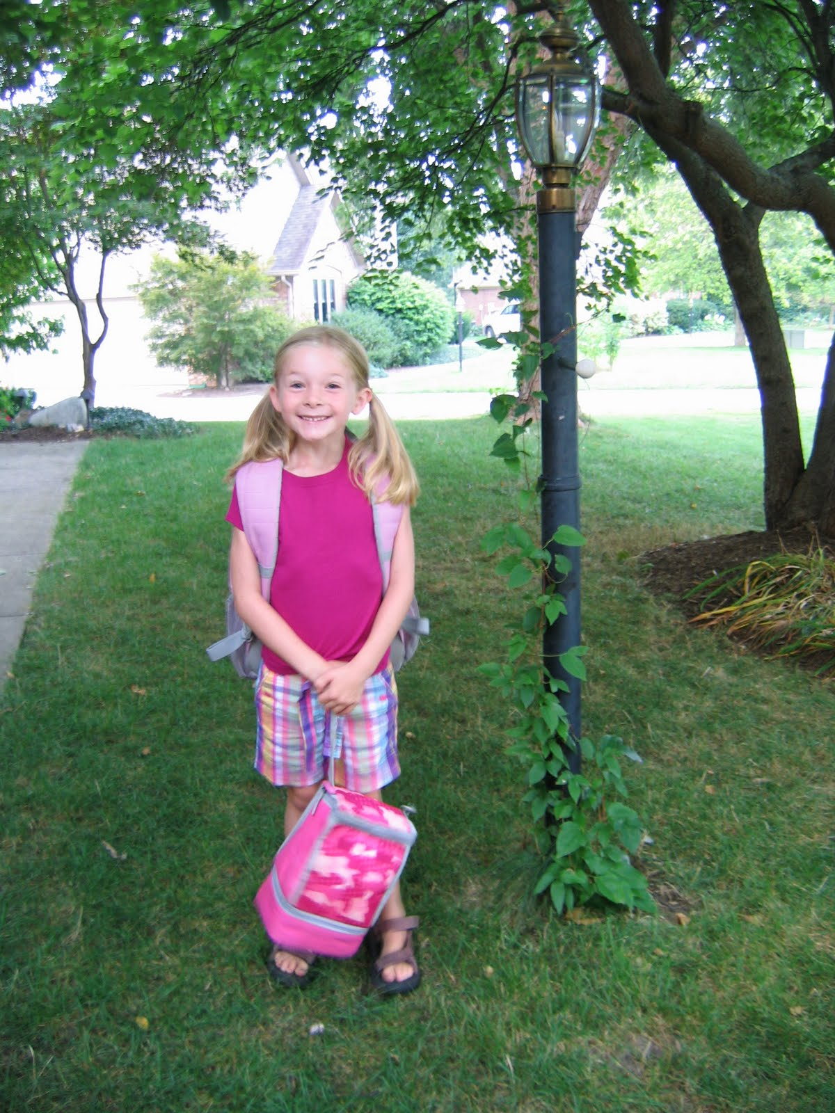 the taller girls  the first day of first grade