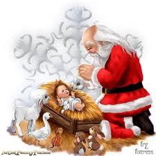 Resultado de imagen para Navidad... ¿Jesús o Papa Noel?