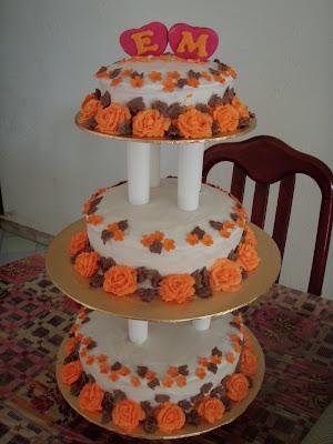 imanis homemade bakery kek bertingkat