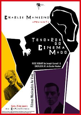 Charlie Mancini apresente Tesouros do Cinema Mudo