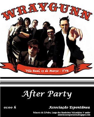 Wraygunn: After Party na Espontânea