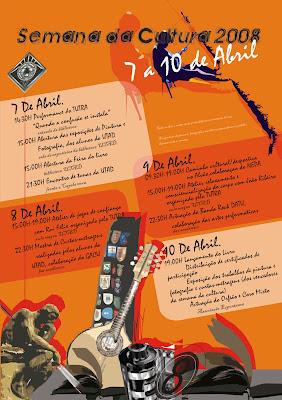 Programa completo da Semana da Cultura 2008