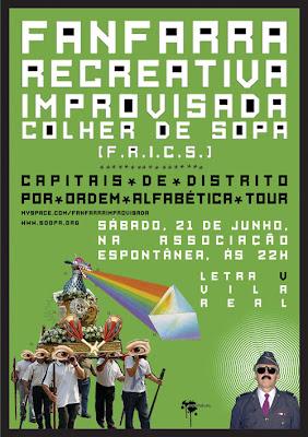 cartaz F.R.I.C.S.
