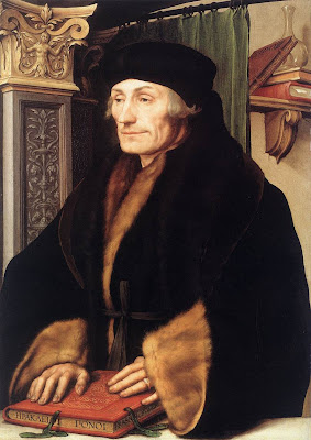 Erasmo por Holbein