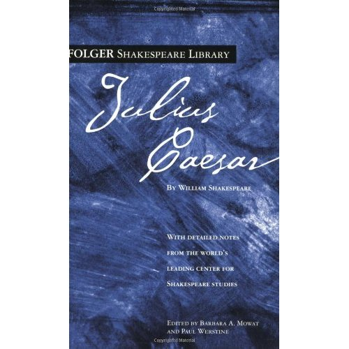 an analysis of the book julius caesar by william shakespeare In mark antony's funeral oration for caesar, we have not only one of  shakespeare's most  the speech could serve as a thematic synopsis to julius  caesar.