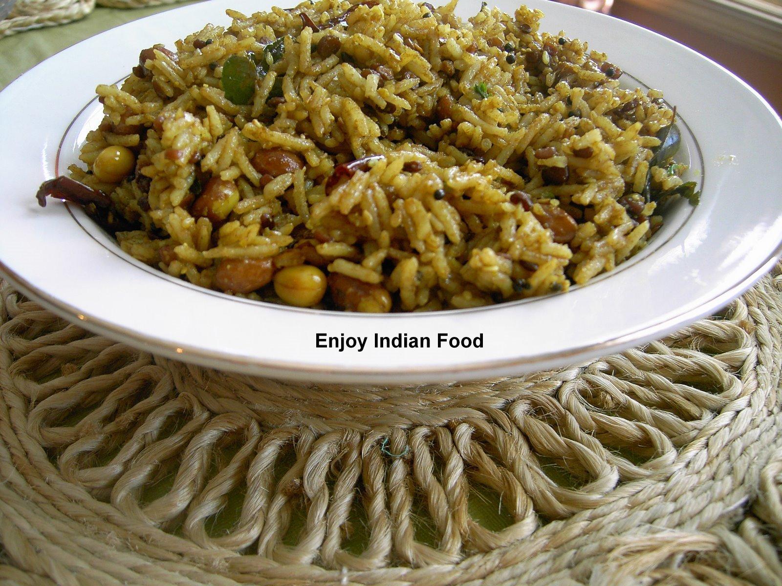 Tamarind Rice Recipe — Dishmaps
