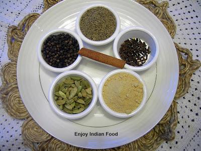Enjoy indian food kashmiri garam masala for Aroma indian cuisine washington dc