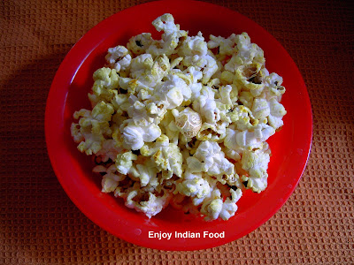 ... Indian restaurants, popcorn and nuts spiced with Indian curry spices