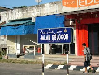 jalan kelocor