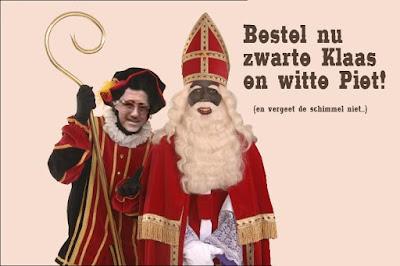 Zwarte Sint en Witte Piet