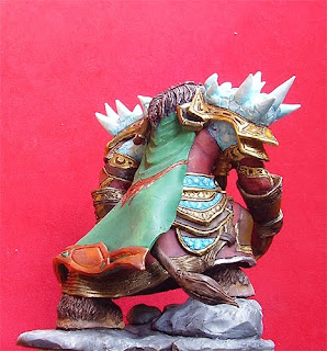 orme magiche scultori modellismo world of warcraft tauren action figures personalizzate