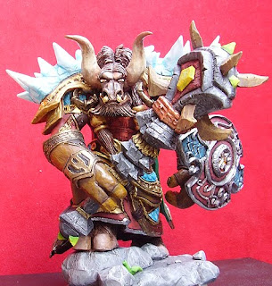 orme magiche action figure sciamano tauren world of warcraft modellino modellini videogames rpc da colorare personalizzati regali originali