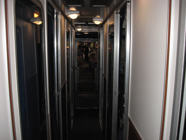 Waterfalls and Honey Days: My review of the Amtrak Roomette