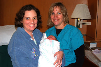 Lil'er E, mom and midwife