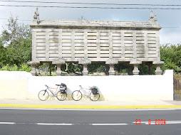 Biking in Galicia, August 2004