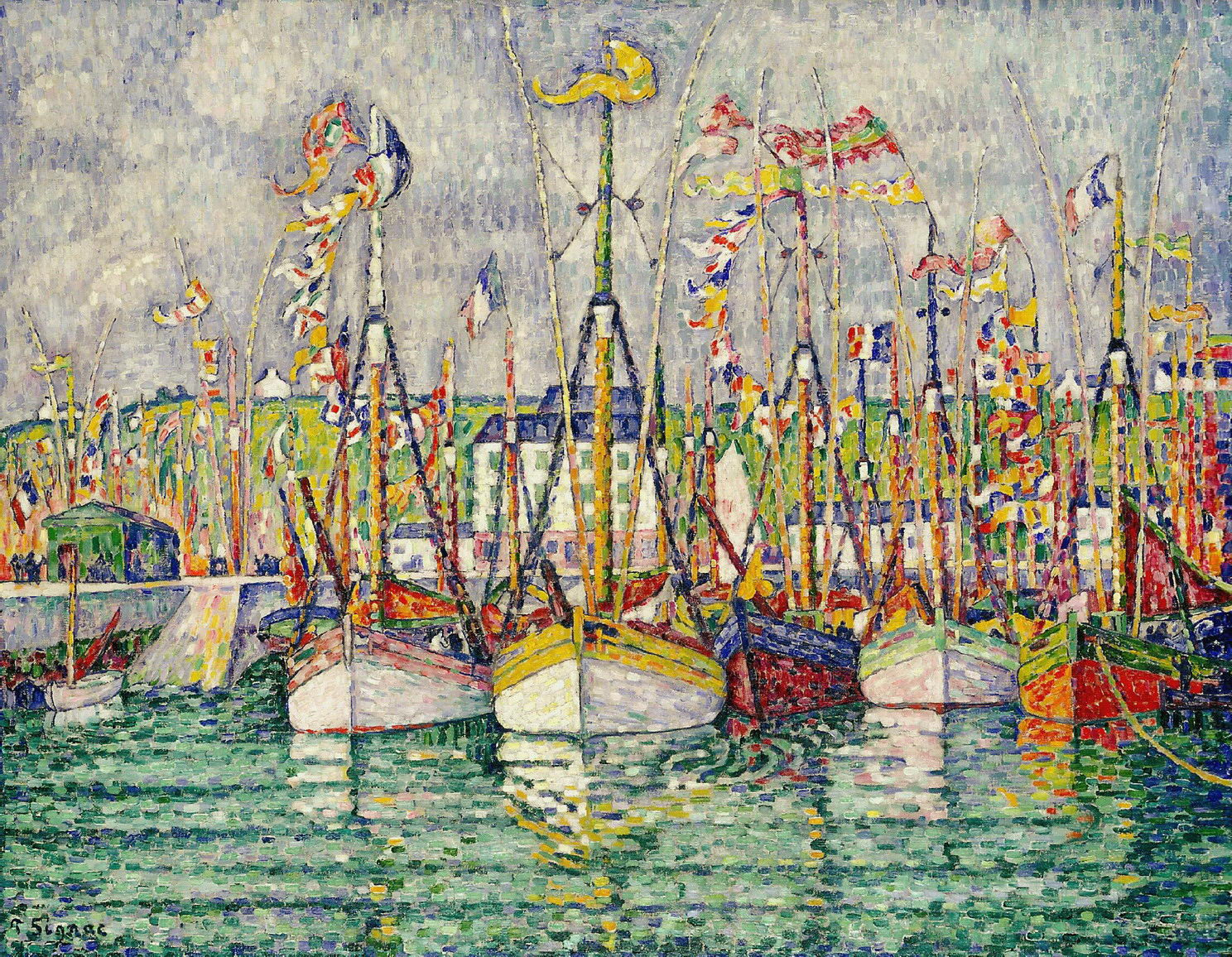 Painting S Style Yes Paintings By Paul Signac