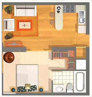 Yeison velandia en la construcci n de vivienda de inter s Alquiler de cuartos o minidepartamentos
