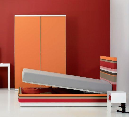 Son 3 bellos dormitorios minimalistas el primer dormitorio rojo y blanco el segundo rojo - Dormitorios juveniles minimalistas ...