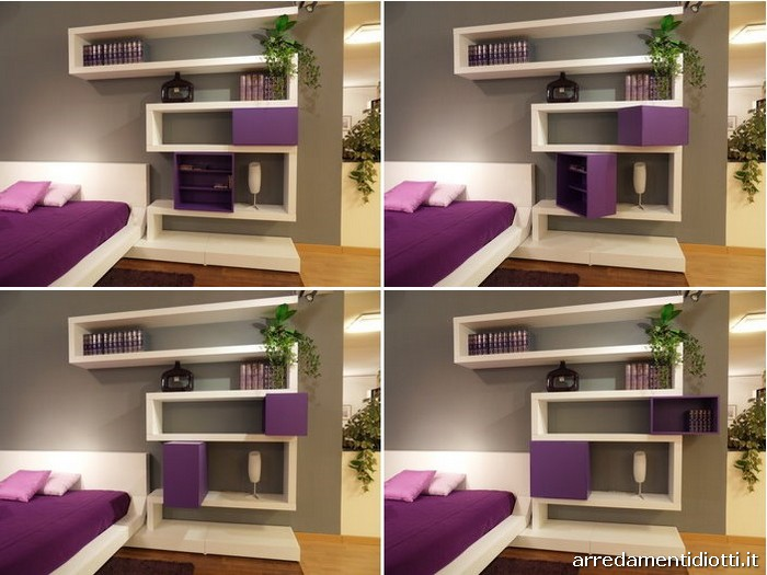 wall storage for small bedrooms decoracion dise 241 o dormitorio moderno y minimalista que 20100