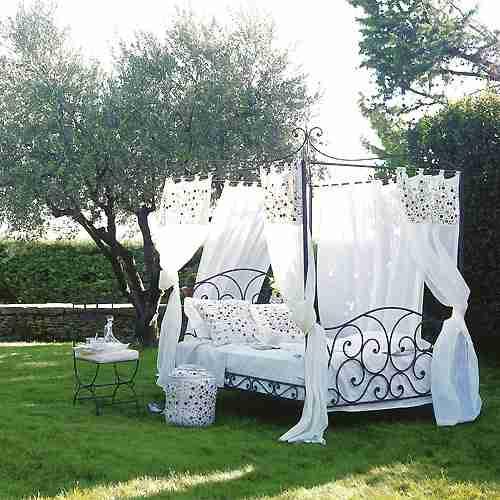 Camas con dosel de varios estilos via - Doseles para camas ...
