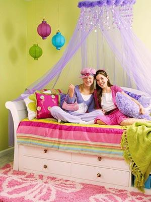 Como decorar el dormitorio para adolescentes recamaras for Como decorar el cuarto de mi hija