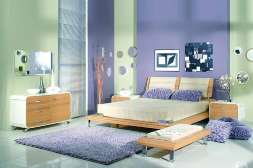 dormitorios morados dormitorios lilas dormitorios violeta. Black Bedroom Furniture Sets. Home Design Ideas
