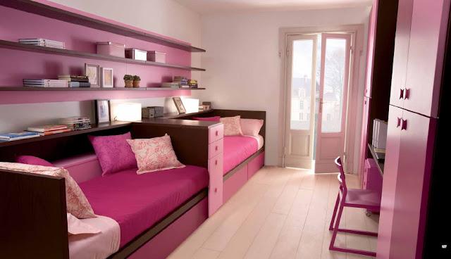 dormitorio para hermanas habitacion rectangular para 2