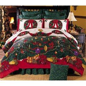 decoracion de dormitorios en navidad