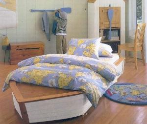 Dormitorio marinero cama barco - Cama barco pirata ...