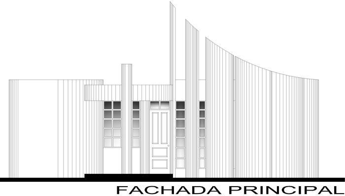 Plano de casa reguilete planos diferentes planos de for Planos de fachadas
