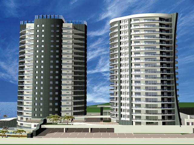 Fachadas de edificios de forma cilindrica 3d fachadas de for Fachadas de edificios modernos