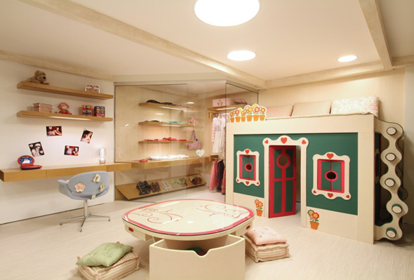 Dormitorio de ni a for Decoracion cuarto para nina 8 anos