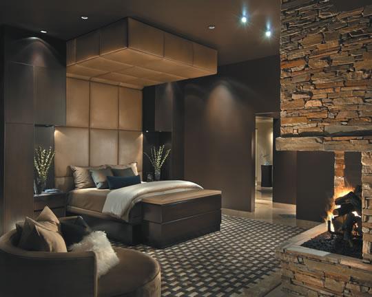 Piedras en el dormitorio for Decoracion de canteros con piedras