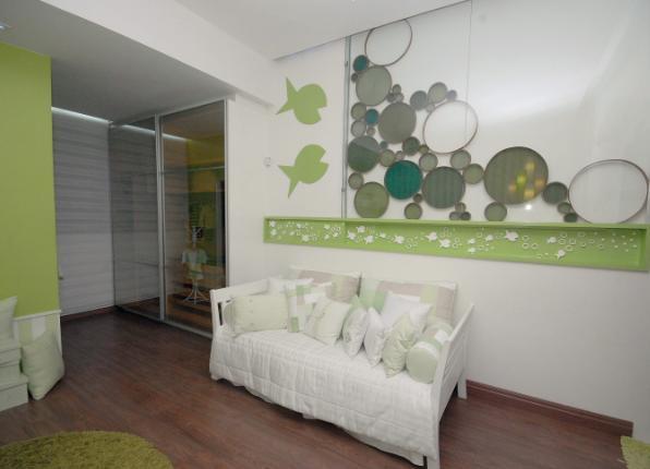 Dormitorio verde para bebe for Dormitorio bebe varon